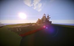 Minecraft- Medium sized destroyer Minecraft Map & Project