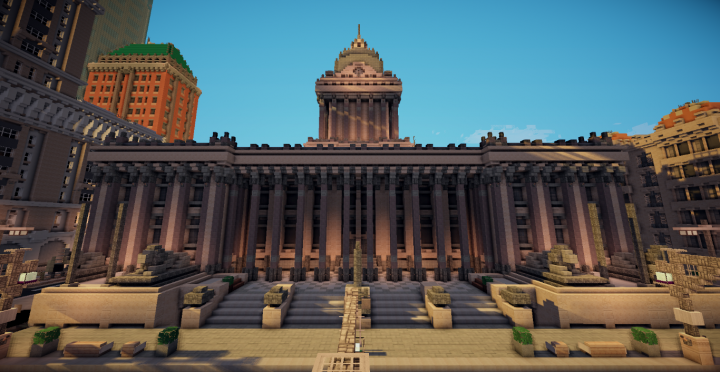 The Town Hall in its full glory