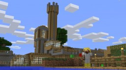 Water-Land base: Survival World Minecraft Project