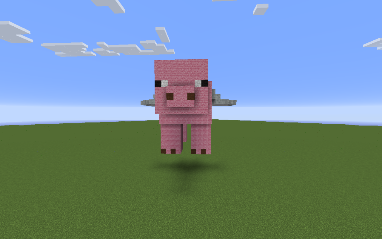 flying pig minecraft project