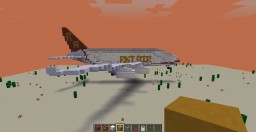 REKT AIR Airbus A380 Minecraft Map & Project