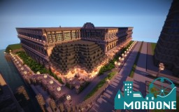 Mordone* Shopping Mall Minecraft Map & Project