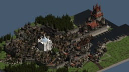Medieval city Herlow Minecraft Map & Project