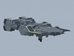 Space carrier Yatagarasu Minecraft Map & Project
