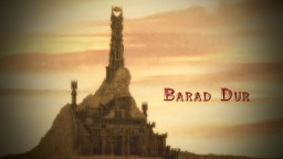 Barad-Dur Minecraft Map & Project