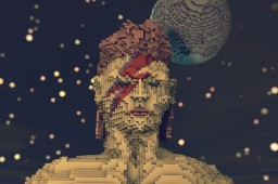 David Bowie Tribute Minecraft Map & Project
