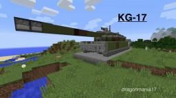 KG-17 Tank Minecraft Map & Project