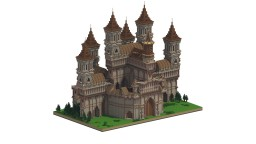 Castle (Server Spawn?) Minecraft