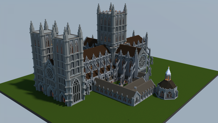 English Gothic Cathedral Minecraft Project