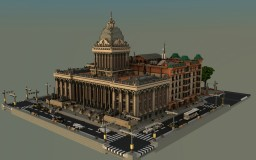 Isona Town Hall Minecraft