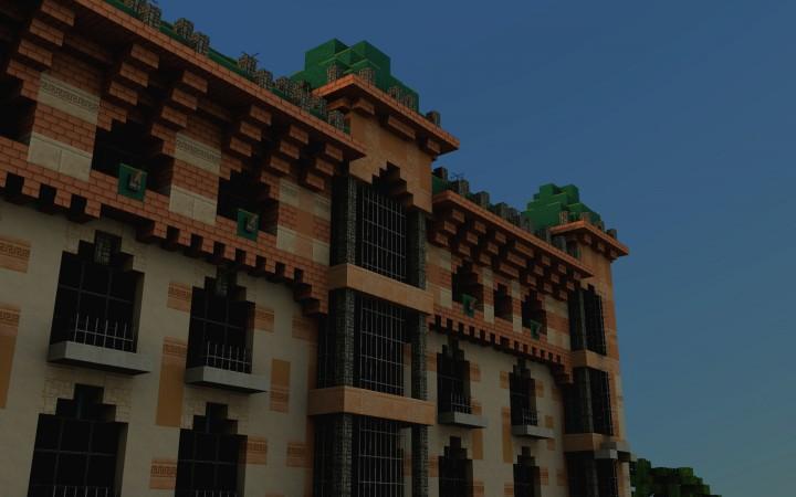 Casa Llopis Bofill close-up