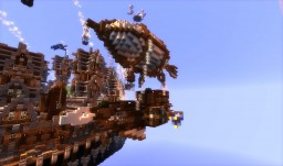 Steampunk City | by madzia627 & Jasmina101 | [Aliquam] Minecraft Map & Project