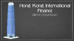 Hong Kong International Finance ; Alleron Downtown Minecraft