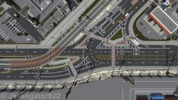 Olive Ave and Stockton Way Intersection | Mission Point | OR Minecraft Project