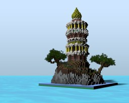 Kyiv Island - Sunfury Plot Minecraft Project