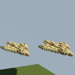 MC80 Star Cruiser (Mon Calamari Cruiser) Minecraft