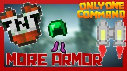 MORE ARMOR with only one command block! Minecraft Map & Project