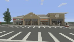 Realistic Shopping Center Minecraft Project