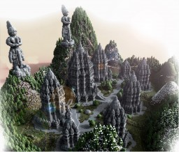 The Great Temples of PRAMBANAN Minecraft Map & Project