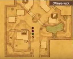 Stornway / Stinsbruck (Dragon Quest IX) Minecraft