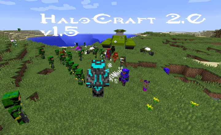 HaloCraft 2.0 Cover Photo