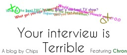 Your Interview is Terrible (Feat. Chron) Minecraft Blog Post