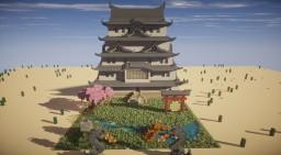 Little Castle Japanese Minecraft Map & Project