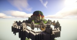 Laputa Castle in the Sky Minecraft Map & Project