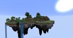 île céleste avec maison survie 1.12.2 Minecraft Map & Project