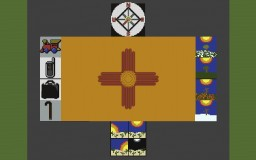 The Flag of New Mexico and it's Meaning Minecraft Map & Project