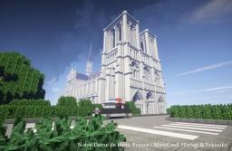 Notre-Dame de Paris【Reproduction】 Minecraft Map & Project