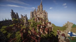 City of Kaapo - large medieval/renaissance citadel/fortified city with dynamic terrain Minecraft Map & Project