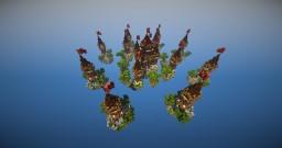 Skywars map - Castle Minecraft Project