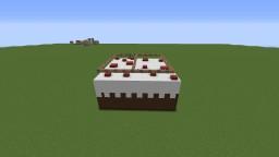 Burning cake Minecraft Map & Project