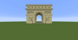 Arch of Triumph Minecraft Map & Project