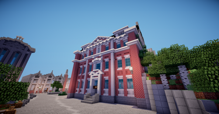 Eurekan Police Station Minecraft Project