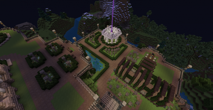 President Snow S Mansion Fanmade Minecraft Map