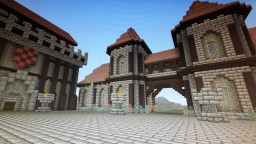 Medieval Town Entry Minecraft Map & Project