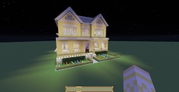 Suburb House Minecraft Map & Project
