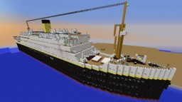 RMS Carpathia 3 Minecraft Map & Project