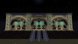 Elevated railway station Minecraft Map & Project