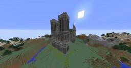 The Cathédrale Minecraft