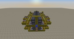210-400+ block range 176 tnt projectile DERP CANNON (one of the biggest cannons ive made) Minecraft Map & Project