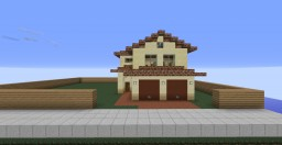 Mediterranean Two Story House - Vice City Minecraft Map & Project