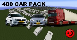 480 CAR PACK Minecraft Map & Project