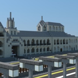 Imperial Chatham Street Minecraft Project