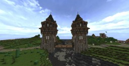 Medieval drawbridge Minecraft Map & Project