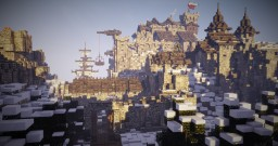Cold castle by IronFarmer Minecraft