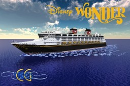 Disney Wonder 1:1 Scale Replica [+Download] [Full-Interior] [First-in-MC]