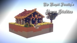 The Royal Family's Horse Stables Minecraft Map & Project